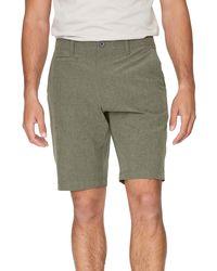 7 Diamonds Velocity Hybrid Shorts - Green