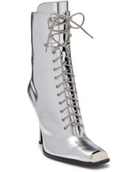 Calvin Klein Windora 7 Metallic Leather Boot