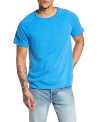 The Rail - Raw Edge Raglan T-shirt - Lyst