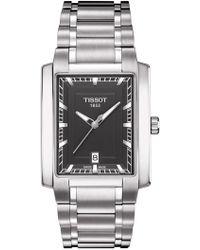 Tissot - Men's T-classic Tradition Quartz Two-tone Bracelet Watch, 42mm - Lyst