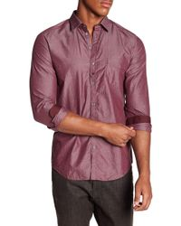 DIESEL - Nami Long Sleeve Sport Trim Fit Shirt - Lyst