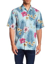 Tommy Bahama - Marjorelle Blooms Short Sleeve Original Fit Shirt - Lyst