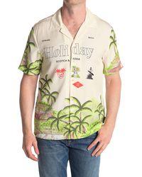 Scotch & Soda Hawaiian Holiday Printed Shirt - Green