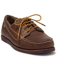Eastland Falmouth Leather Lac-up Moc Loafer - Brown