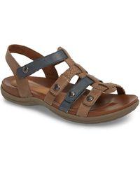 Cobb Hill Rockport Rubey T-strap Sandal - Multicolor
