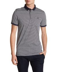 Ted Baker - Enders Print Polo - Lyst