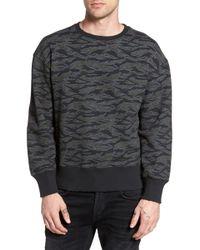 The Rail - Print Sweatshirt - Lyst
