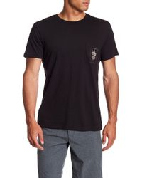 RVCA - Thumbs Up Graphic Tee - Lyst