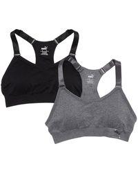 PUMA Seamless Sports Bra - Black