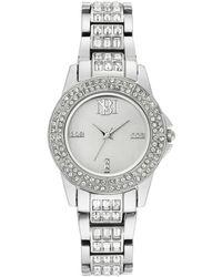 Bruno Magli Women's Diamond Dial Bracelet Watch, 30mm - Metallic