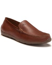 Tommy Bahama Acanto Leather Loafer - Brown