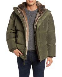 Marc New York - Athlone Faux Fur Down Jacket - Lyst