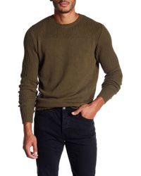 Neuw Combat Knit Sweater - Green
