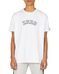 Zanerobe Team Rugger T-shirt - White