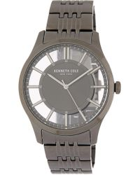 Kenneth Cole - Men's Clear Dial Bracelet Watch - Lyst