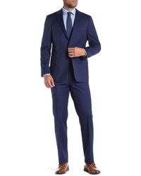 Hickey Freeman - Solid Classic Fit Wool Suit - Lyst
