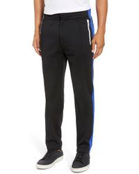Rag & Bone Stripe Track Pants - Black