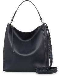 AllSaints - Kita Large North/south Leather Tote - Lyst
