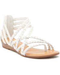 cc695a1459b613 Carlos By Carlos Santana - Amara Braided Flat Sandals - Lyst
