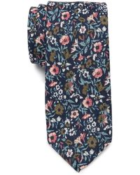 Original Penguin Mirmar Floral Tie - Blue