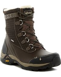 Ahnu - Twain Harte Insulated Faux Shearling Lined Boot - Lyst