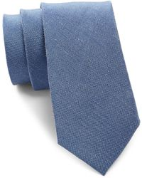 CALVIN KLEIN 205W39NYC - Solid Woven Tie - Lyst