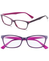 Corinne Mccormack - Juliet Purple Acetate Reading Glasses - 2.00 - Lyst