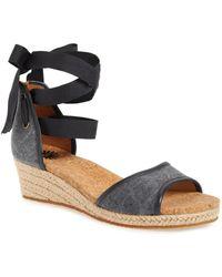 UGG - Ugg(r) Amell Ankle Wrap Sandal (women) - Lyst