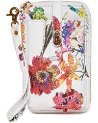 Elliott Lucca - Zip Leather Smartphone Wristlet - Lyst