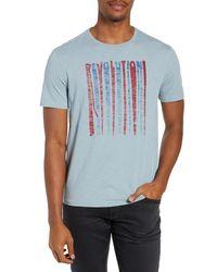 John Varvatos Slim Fit Revolution Graphic T-shirt - Blue
