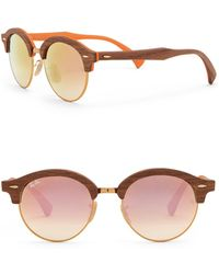 Ray-Ban - Unisex Phantos 51mm Clubmaster Sunglasses - Lyst