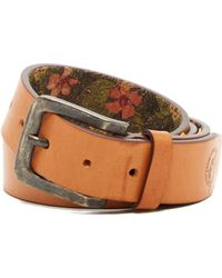 Tommy Bahama - Hibiscus Lined Leather Belt - Lyst