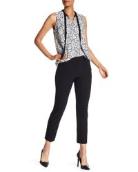Adrianna Papell - Solid Kate Bi-stretch Fitted Pants - Lyst