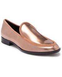 Attilio Giusti Leombruni Metallic Leather Loafer - Multicolor