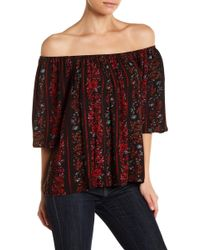 Volcom - Fresh As Off The Shoulder Top - Lyst