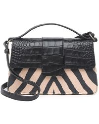 Vince Camuto Kali Crossbody Top Handle Bag - Black