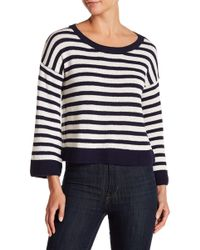 Lucky Brand - Striped Pullover - Lyst