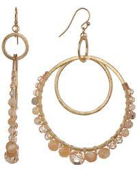 Chan Luu - Semiprecious Stone Earrings - Lyst