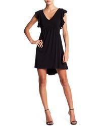 BCBGeneration - Flutter Sleeve A-line Dress - Lyst