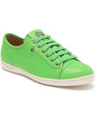 Longchamp Le Pliage Leather Sneaker - Green