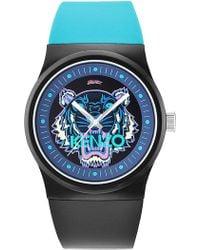 KENZO | Men's Tiger Head Sport Watch, 42mm | Lyst