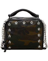 Ash | Frankie Box Camo Leather Crossbody | Lyst