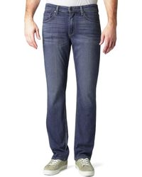 PAIGE Normandie Straight Leg Jeans - Blue