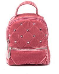 Circus by Sam Edelman Jordyn Velvet Mini Backpack - Multicolour