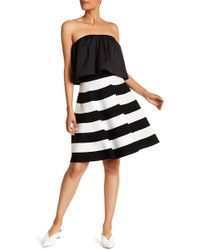 MILLY - Flare Circle Skirt - Lyst