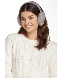 UGG | Lyla Sequined Genuine Shearling Wool Blend Earmuff | Lyst