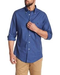 Brooks Brothers - Heathered Solid Oxford Regular Fit Shirt - Lyst