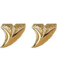 Anna Beck - 18k Gold Plated Sterling Silver Horn Stud Earrings - Lyst