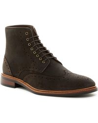 Gordon Rush - Stafford Wingtip Lace-up Boot - Lyst