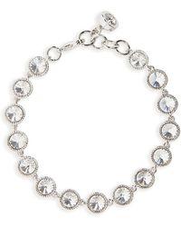 Ted Baker - Rivoli Crystal Line Bracelet - Lyst